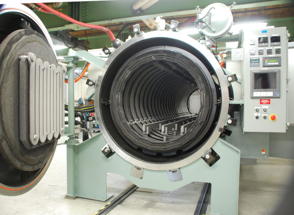 Large Heat Treat Furnace Chamber
